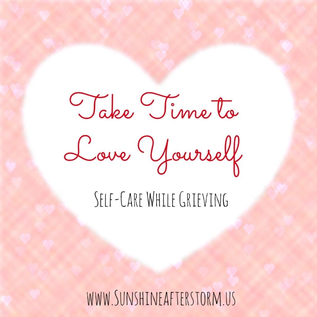 self-care while grieving